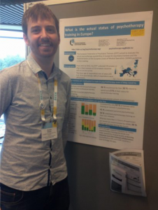 Presenting the psychotherapy survey in EABCT Stockholm